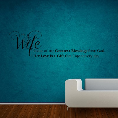 My Wife Wall Sticker Decal