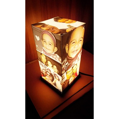 Personalized Anniversary/Birthday Acrylic Tower Lamp