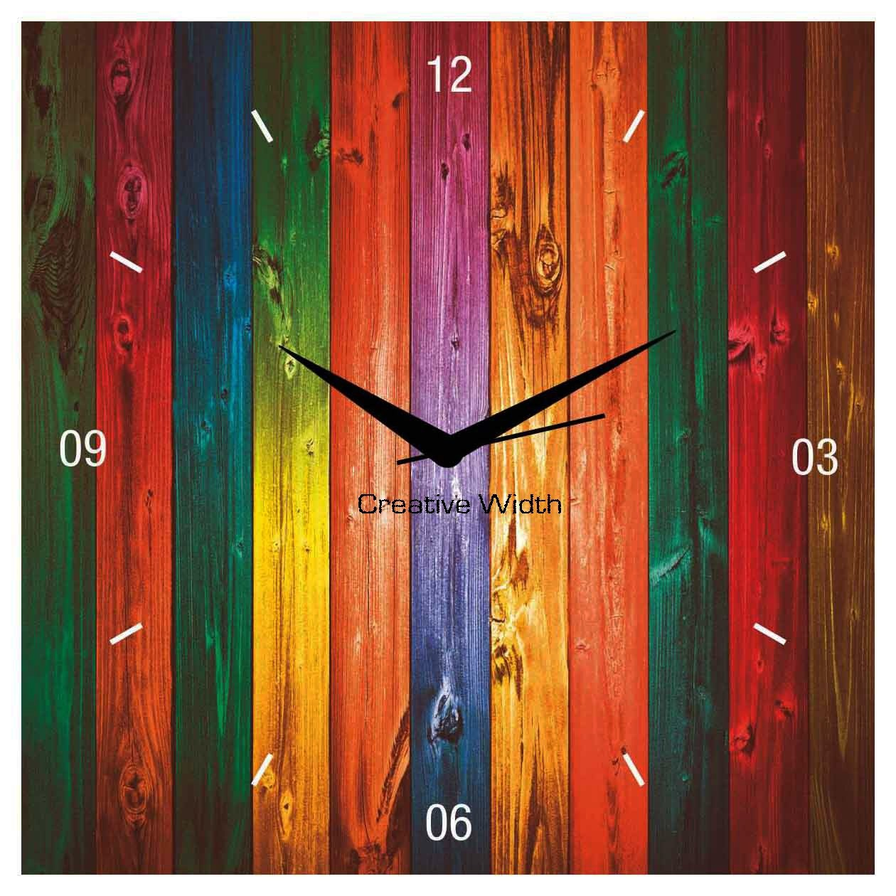 Rainbow Shades 1 Wall Clock