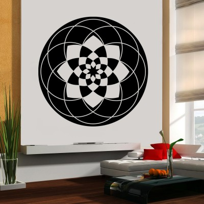 Halo Wall Sticker Decal-Medium-Black