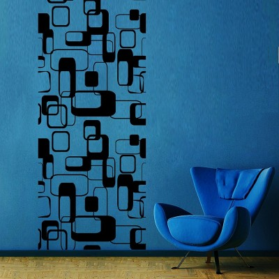 Retro Vivid 1 Wall Sticker Decal-Black