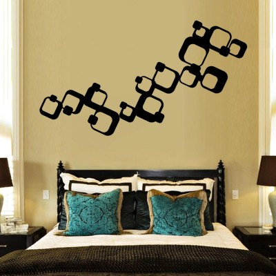 Retro Vivid 2 Wall Sticker Decal-Small-Black