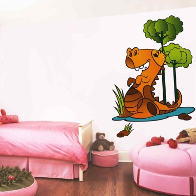 Happy Monster Quote Wall Sticker Decal-Small