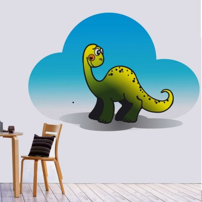 Cute Dinosaur Quote Wall Sticker Decal-Small