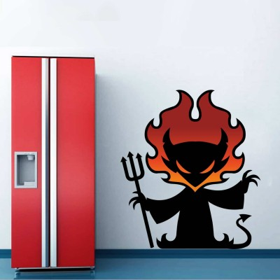Devil Quote Wall Sticker Decal-Small