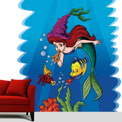 Ariel With Friends Quote Wall Sticker Decal-Small