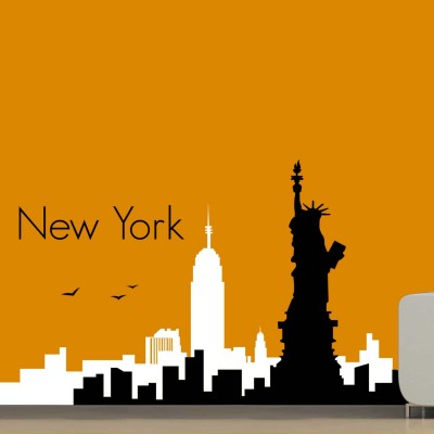 City Of New York Wall Sticker Decal-Small