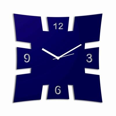 Brick Style Blue Wall Clock