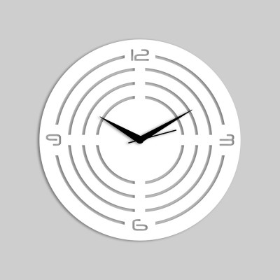 Concircle Style 1 White Wall Clock