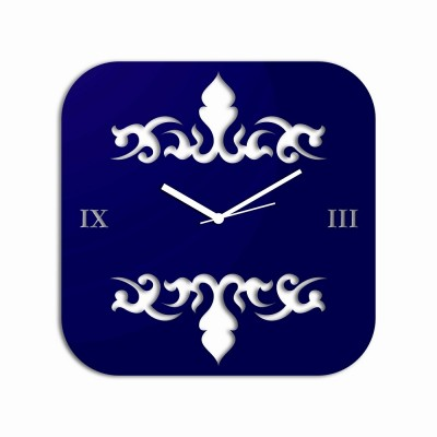 Abstract Style 2 Blue Wall Clock