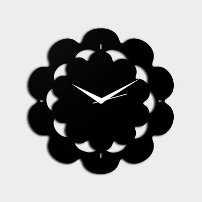 Abstract Style 3 Black Wall Clock