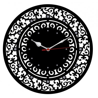 Trendy Ethnic Wall Clock Style 5