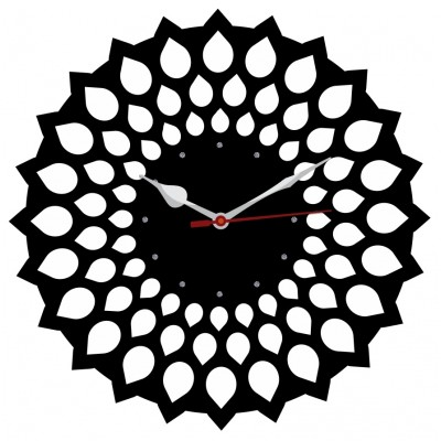 Trendy Ethnic Wall Clock Style 7