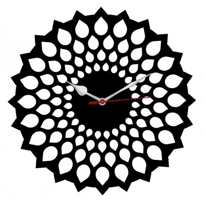 Trendy Ethnic Wall Clock Style 8