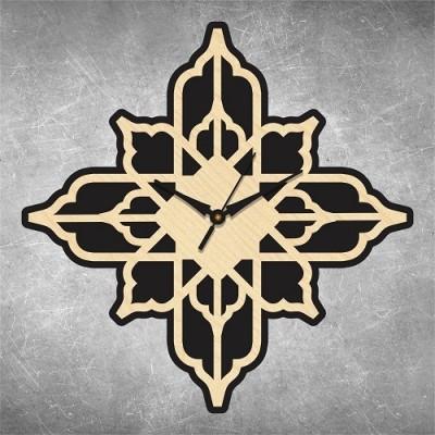 Traditional Self Cut 1 Birchwood Wall Clock