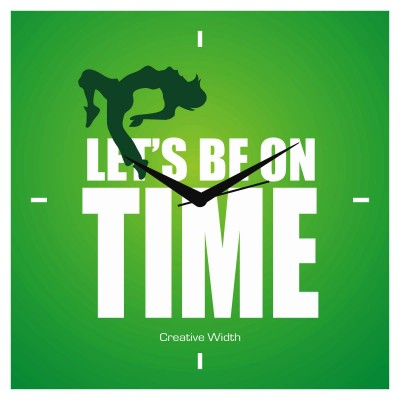 Be On Time Wall Clock