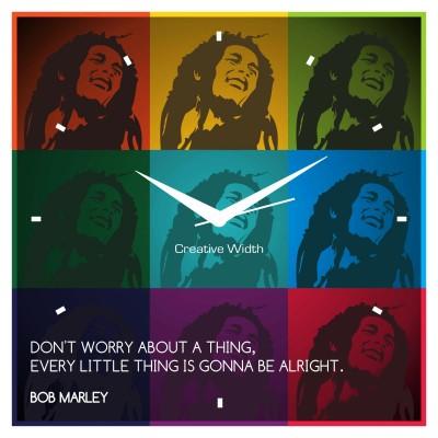 Bob Marley Wall Clock