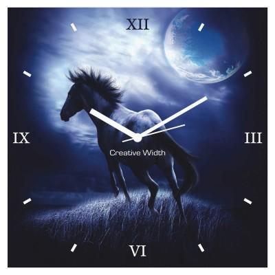Beauty In Moon Wall Clock
