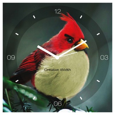 Angry Bird Wall Clock