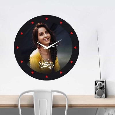 Personalized Circular Shape Birthday Wishes Wall Clock-Medium