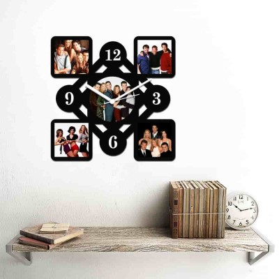 Personalized/Customized 5 Pic Wall Clock Style-Small