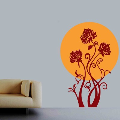 Give Me Sunshine Wall Sticker Decal-Large-Yellow & Red