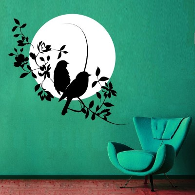 Waiting For You Wall Sticker Decal-Small-Black & White