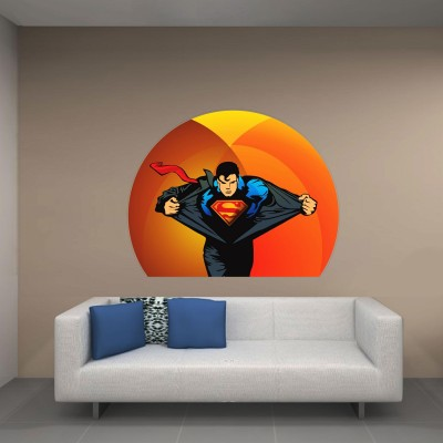 Superman Rising Wall Sticker Decal-Small