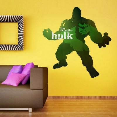 Incredible Hulk Wall Sticker Decal-Small