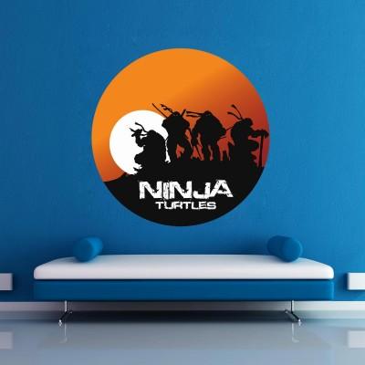 Ninja Turtles Rising Wall Sticker Decal-Small