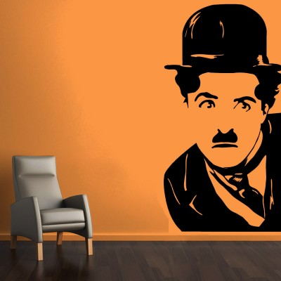 Charlie's Emotions Wall Sticker Decal-Small-Black