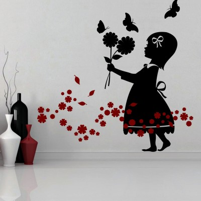 Love For Flowers Wall Sticker Decal-Small