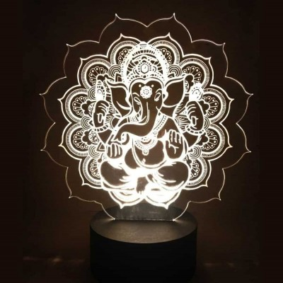 3D LED Ganesha Lamp