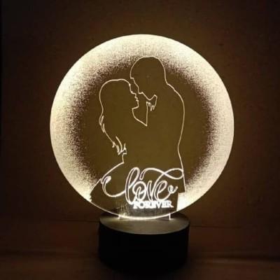 3D LED Together Forever Lamp