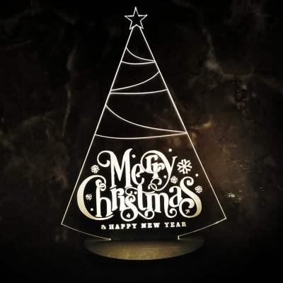 3D LED Christmas Tree Lamp