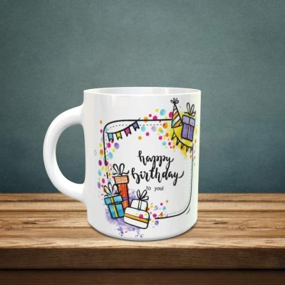 Happy Birthday to you mug with Perosnalized Photo