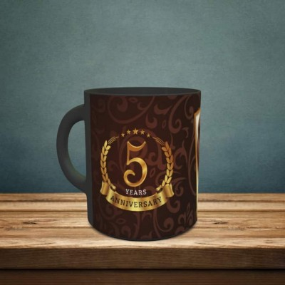 Personalized 5th Anniversary Love Forever Mug