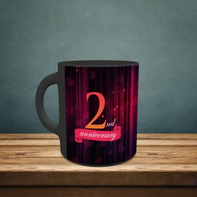 Personalized 2nd Anniversary Mug