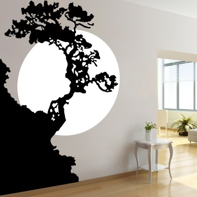 Sunset Tree Wall Sticker Decal-Small
