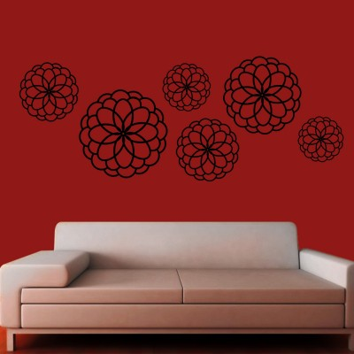 Helicurves Wall Sticker Decal-Small-Black