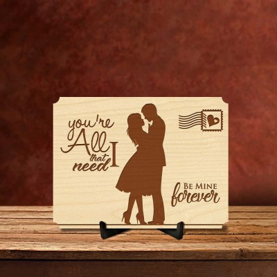 All I Need Is You Postcard