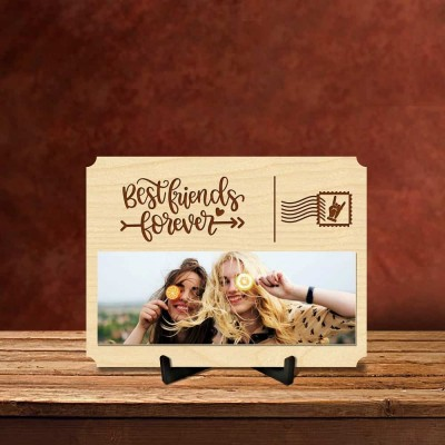 Personalized Friends Forever Postcard