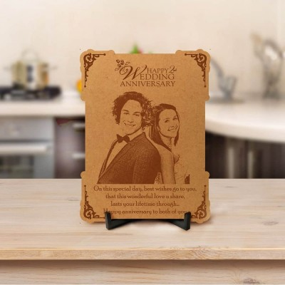 Personalized Anniversary Engraved Photo Frame 1