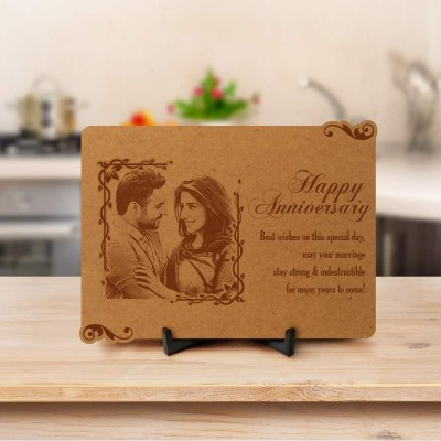 Personalized Anniversary Engraved Photo Frame 3