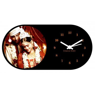 Personalized Birthday/Annversary Table Clock Style 2