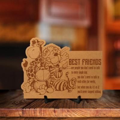 Best Friends Engraved Photo Frame