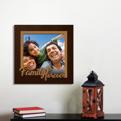Personalized Family Forever Wall Photo Frame Style 1