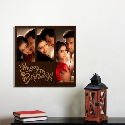 Personalized Happy Birthday Wall Photo Frame Style 2