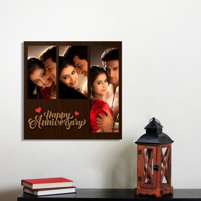 Personalized Happy Anniversary Wall Photo Frame Style 3