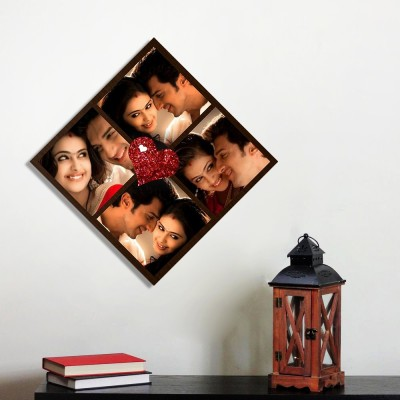 Personalized 4 Photo Love Wall Photo Frame
